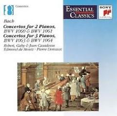 Bach Concertos For 2 And 3 Pianos