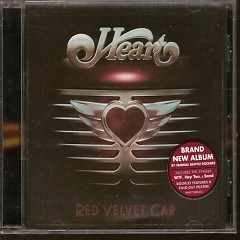 Red Velvet Car - Heart