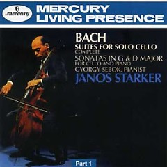 The Collector's Edition CD 41 Starker Bach: 6 Cello Suites (Part 1) CD 1