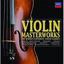 Violin Master Works CD01. Bach, J.S.: Violin Concertos In E And A Minor / Double Concerto