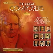 The Great Composers CD01 Wolfgang Amadeus Mozart Vol.1