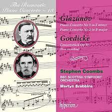 The Romantic Piano Concerto, Vol. 13 – Glazunov & Goedicke