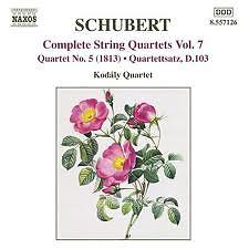 Schubert Complete String Quartets Vol.7