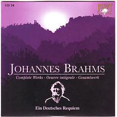 Johannes Brahms Edition: Complete Works (CD34)