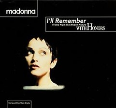 I'll Remember (Theme From With Honors) (5'' CDS - Germany)