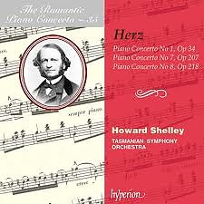 The Romantic Piano Concerto, Vol. 35 – Herz 1, 7 & 8 - Howard Shelley,Tasmanian Symphony Orchestra
