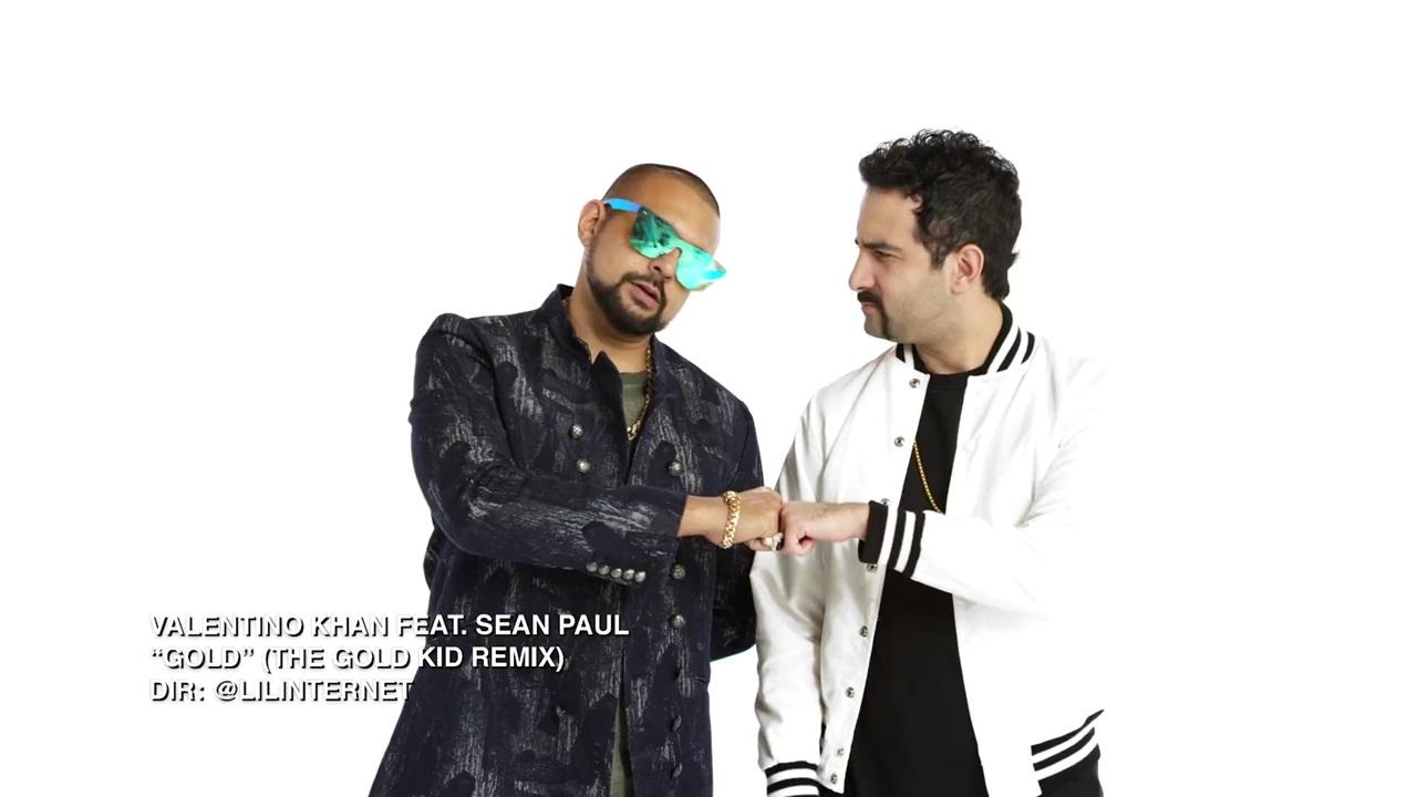 Gold - Sean Paul, Valentino Khan